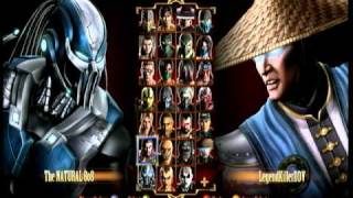 Mortal Kombat Online Match # 3 (1 out of 6)