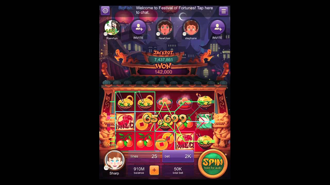 Big fish casino slot audio demo youtube for Fish casino slot