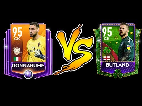 TOTW DONNARUMA VS SP BUTLAND ! WHO IS BETTER & HOW TO BEAT THEM ! FIFA MOBILE 19