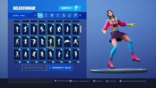 Skin Rox Dancing 131 Fortnite Gestures