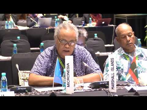 Micronesia Country Statement, FAO APRC 34, 2018