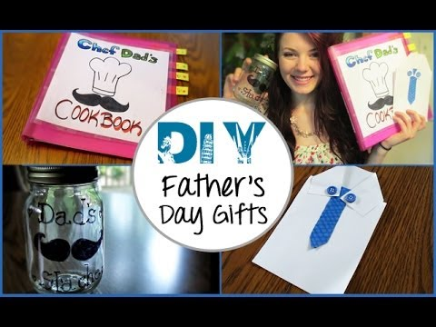 Diy father 39 s day gifts youtube for Creative gifts for dad from daughter
