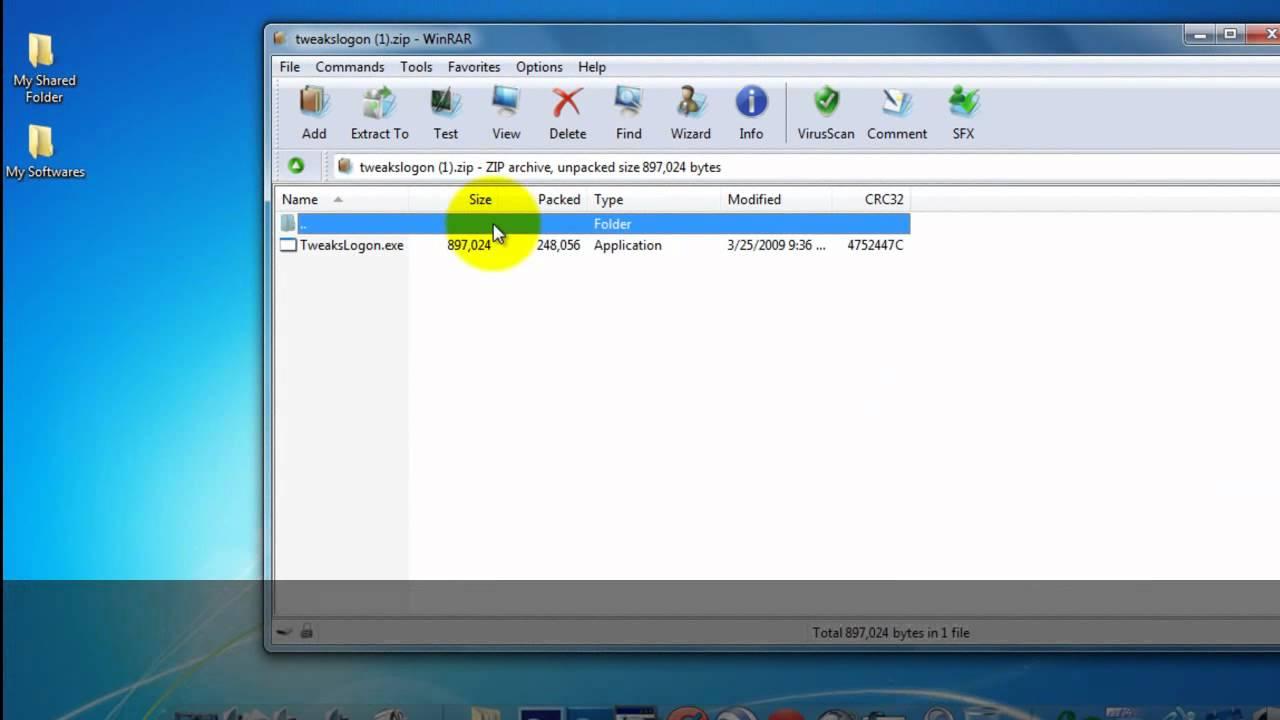 Tweaks logon changer windows 7 download ▷ ▷ powermall.