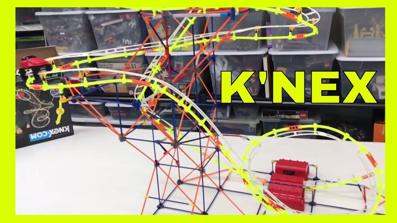 Knex Roller Coaster Supernova Blast Youtube