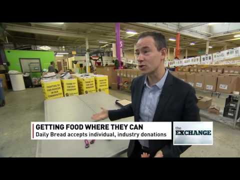 Inside one of Canada's largest food banks - The Exchange - Dec. 10