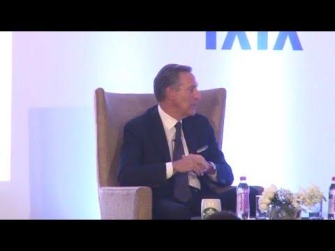 In conversation with Howard Schultz, CEO, Starbucks