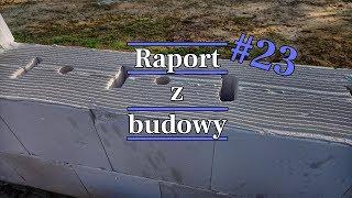 #23 Jak murować na cienką spoinę. Murowanie silikatów na klej. #budowana5 #vlogbudowlany