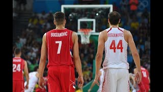Croatia vs Serbia - Rio 2016 Basketball Men's Quarter Final Full Game - 17 Aug 2016