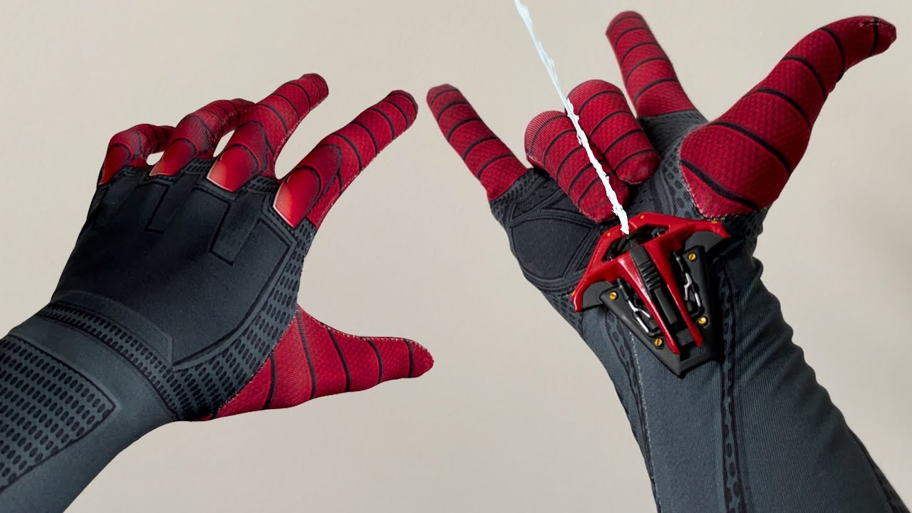 Spiderman Bros Unboxing Web Shooter SPIDERMAN MILES MORALES PS5!! Replica version