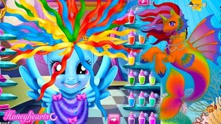 Rainbow Dash Hair Style & Create A Mermaid Pony - Lets Play Online Games