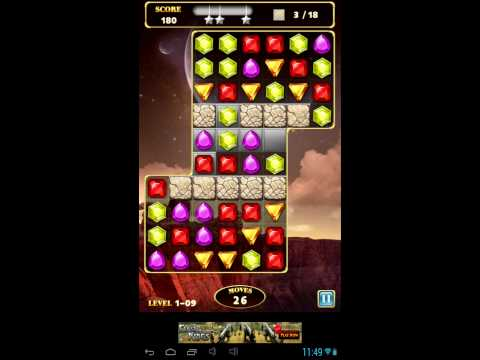 Jewels Star 3 - Android gameplay GamePlayTV