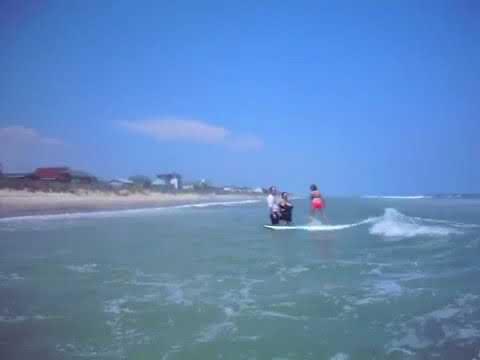 Kayla Surfing