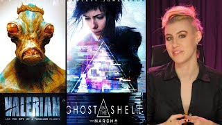 Ghost in the Shell & Valerian and the City of a Thousand Planets Movie