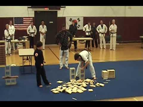 Tae Kwon Do Break 55 boards
