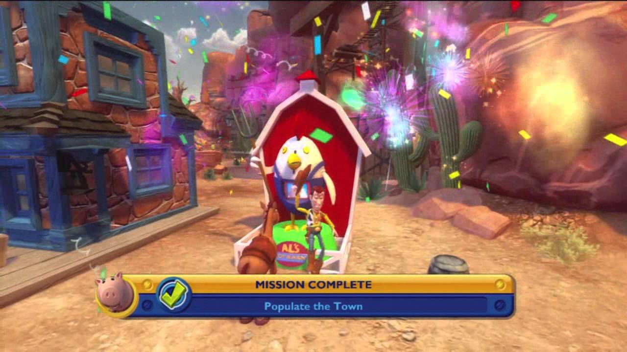 Toy Story 3 (Xbox 360) Part 3 Customizing The Town - YouTube
