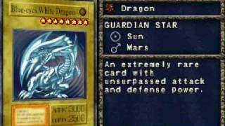 Yugioh Forbidden Memories - Blue Eyes White Dragon