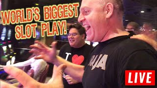 Get Ready for the BIGGEST SLOT PLAY on YouTube! 🎰 Slot Fest West Night 1 LIVE | The Big Jackpot