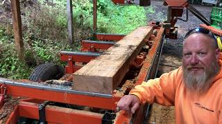 Resawing Reclaimed Lumber On My Wood-Mizer LT-35