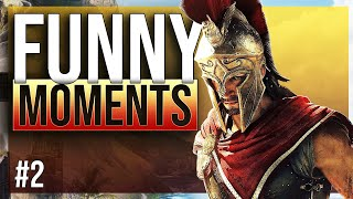 ASSASSINS CREED ODYSSEY - funny moments #2