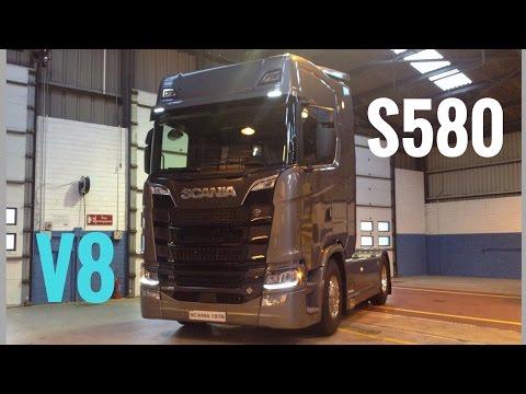SCANIA All New Next Generation Trucks S580 & R450 - Stavros969 4K