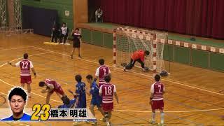日本ハンドボールリーグ 豊田合成 vs トヨタ車体(2017年11月23日 稲沢ホーム大会)