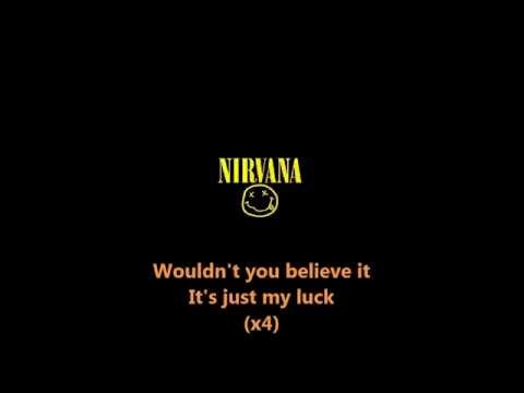 Nirvana - School (with lyrics)