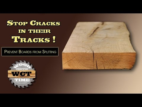 Prevent Your Boards From Splitting- STOP Cracks In Their Tracks!