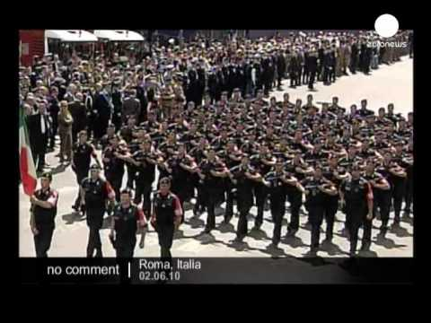 Republic Day ceremony in Italy - no comment