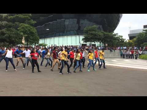 Flash mob in Infosys Pune on July 7