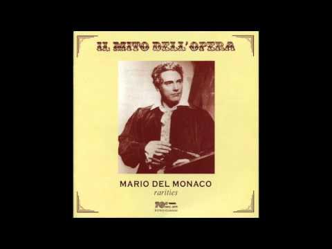 Mario Del Monaco Ch' ella mi creda 1951 live con bis!