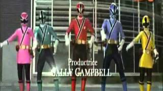 Générique Power Rangers Super Samurai VF