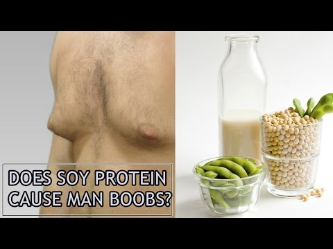 Does Soy Protein Cause Man Boobs? | SOY CONFUSION