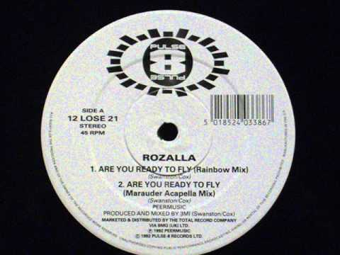 Rozalla  Are you ready to fly rainbow mix