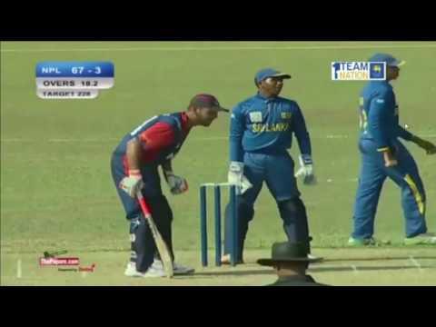 Nepal vs Srilanka U19 Live ASIAN CRICKET COUNCIL UNDER19S ASIA CUP 2016