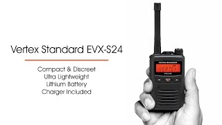 vertex standard evx s24