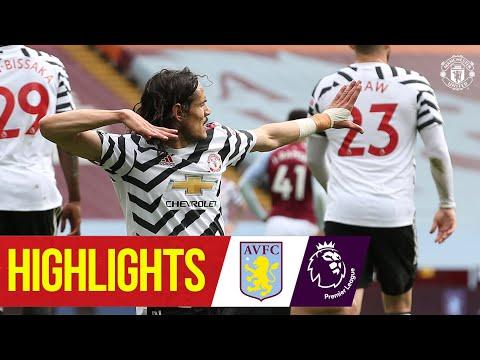 Fernandes, Greenwood & Cavani seal comeback win   Aston Villa 1-3 Manchester United   Premier League