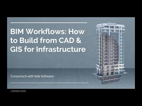 BIM Workflows: How to Build from CAD & GIS for Infrastructur