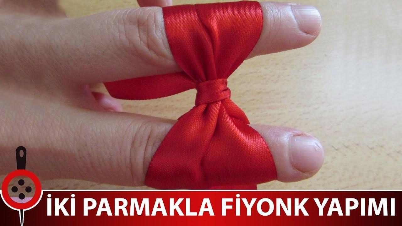 İki Parmakla Fiyonk Yapımı  @Hatice Demir
