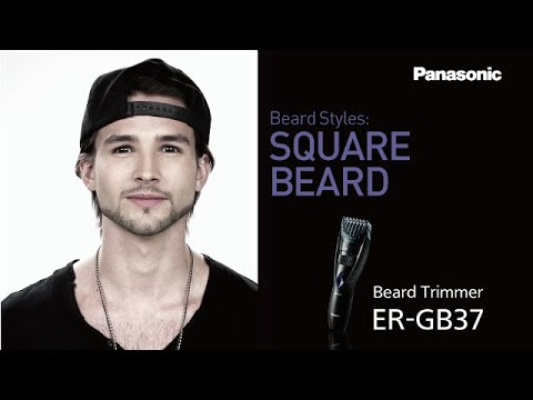 square beard panasonic men 39 s grooming tips youtube. Black Bedroom Furniture Sets. Home Design Ideas