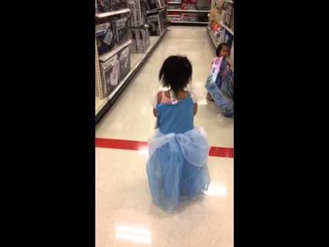 Princess elsa at target!