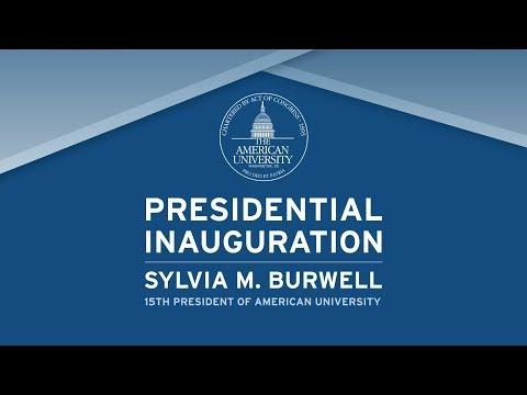 President's Inauguration - Sylvia M. Burwell: Greetings Video