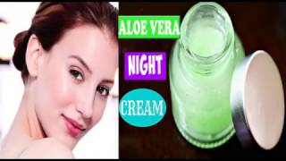 Homemade Night cream for beautiful Glowing Skin, Daily Night cream for younger looking fair skin