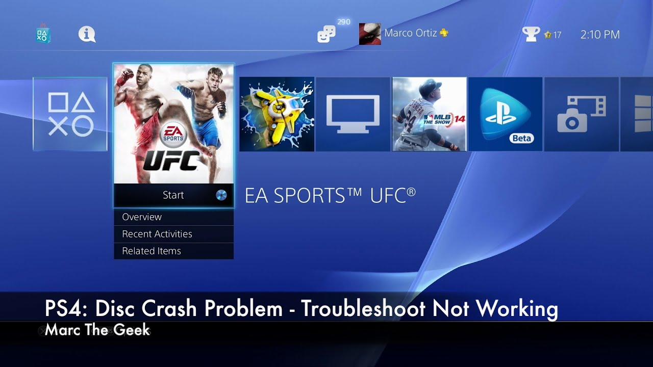PS4: Disc Crash Problems - Troubleshoot Not Working (READ UPDATE)