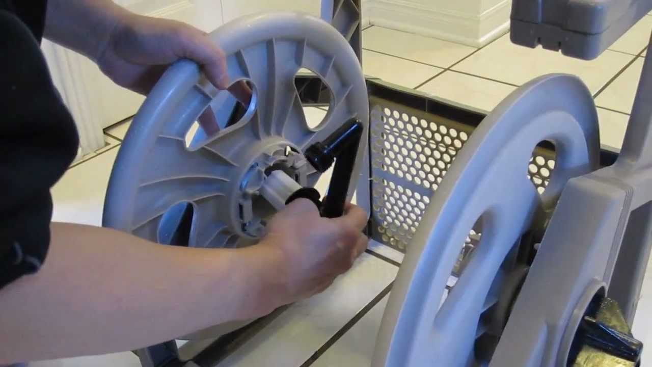 Suncast Hose Reel Repair Youtube