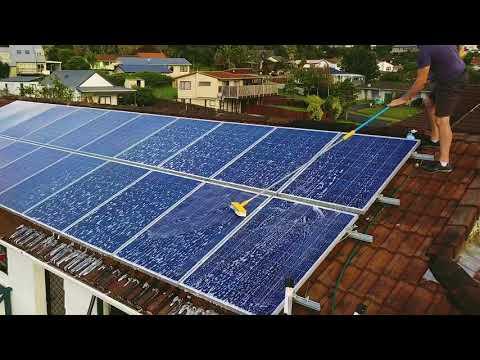 Solar Panel Wash Yearly Wash