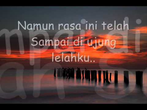 d'masiv - cinta sampai di sini with lyrics