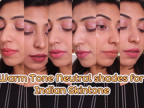 Warm Tone NUDE lip shades for Indian Skin tone | Lip Swatches thumbnail