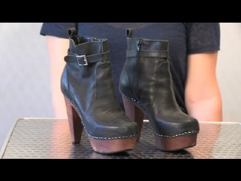 How to Get a Stain Out of a Wallabee Shoe : Cleaning Shoes