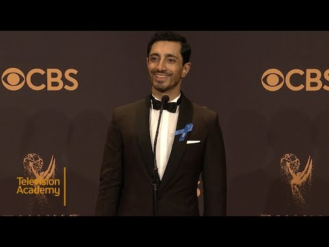 69th Emmys: Riz Ahmed Press Room Interview