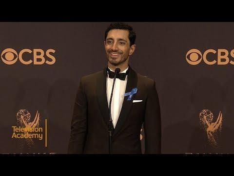 69th Emmys: Riz Ahmed Press Room